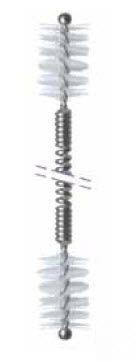 Endoscope medical brush / dual-head REI-D05-23 series Endo-Technik