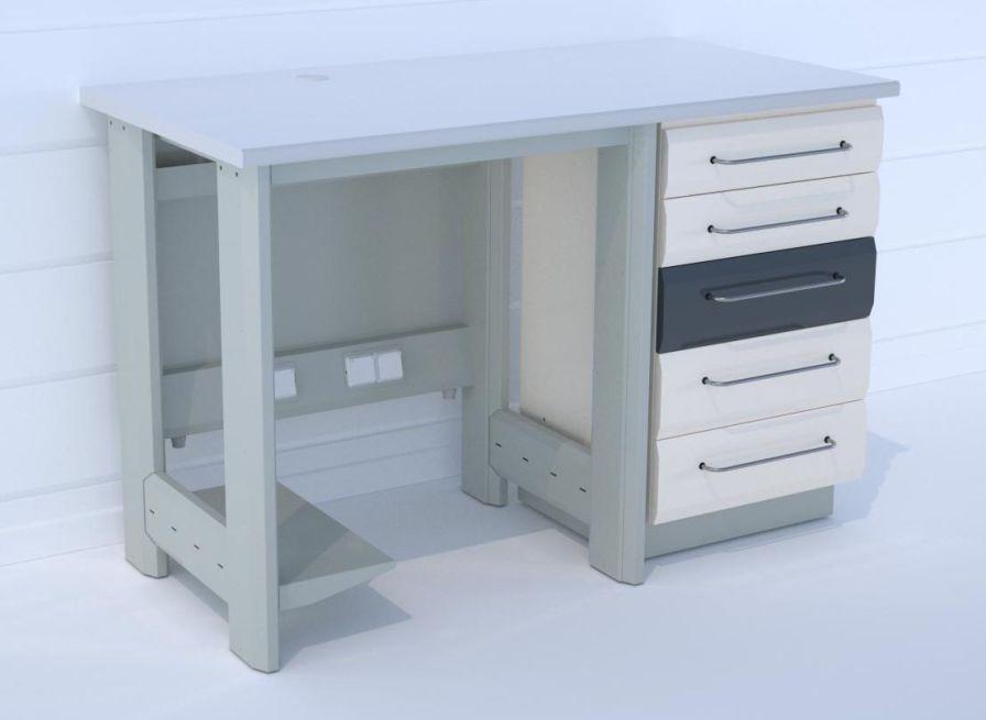 Dental laboratory worktop / with drawer / modular T/80+W22 ERIO