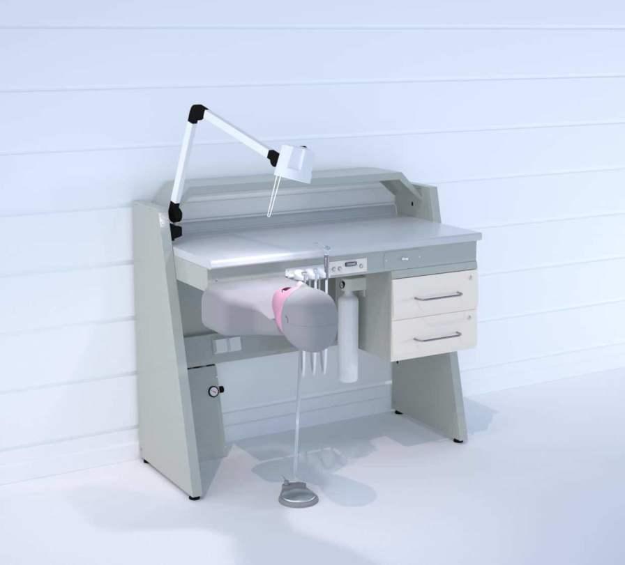 Dental laboratory workstation / with patient simulator SOPHM ERIO
