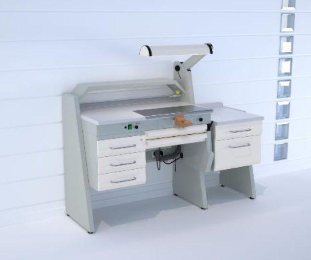 Dental laboratory workstation / 1-station SOLE1/I+SOBF+SOFT ERIO