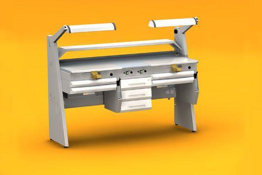Dental laboratory workstation / 2-station SOLE2 ERIO