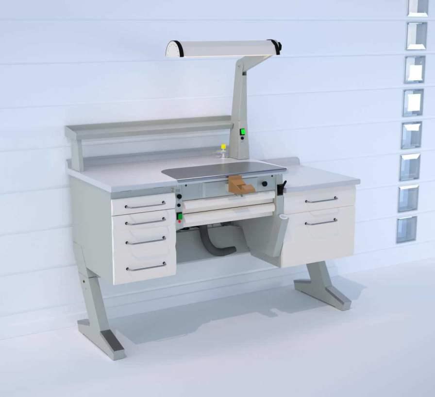 Dental laboratory workstation / 1-station C4+PL/AR+BF/C ERIO