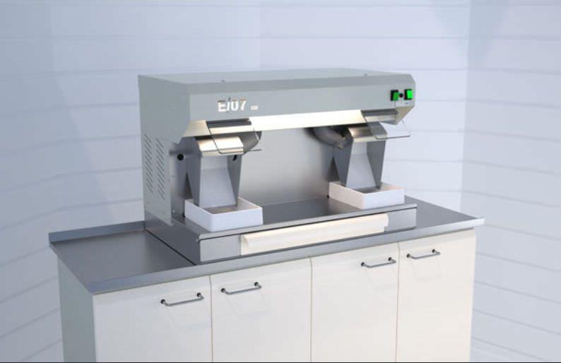 Polishing unit for dental laboratory E07/S ERIO
