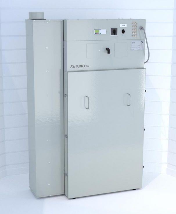 Filtration central vacuum pump / dental laboratory / cartridge AS/TURBO ERIO