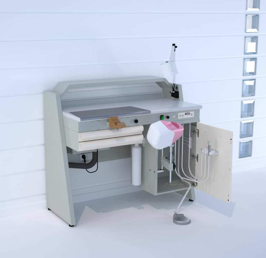 Dental laboratory workstation / with patient simulator SOPHT ERIO