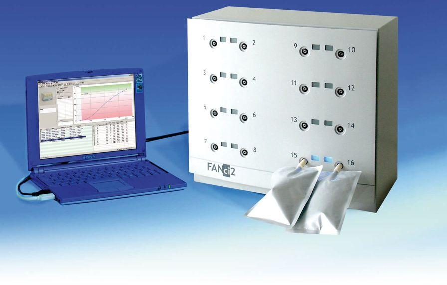 Carbon dioxide monitor FANci 2 Fischer ANalysen Instrumente