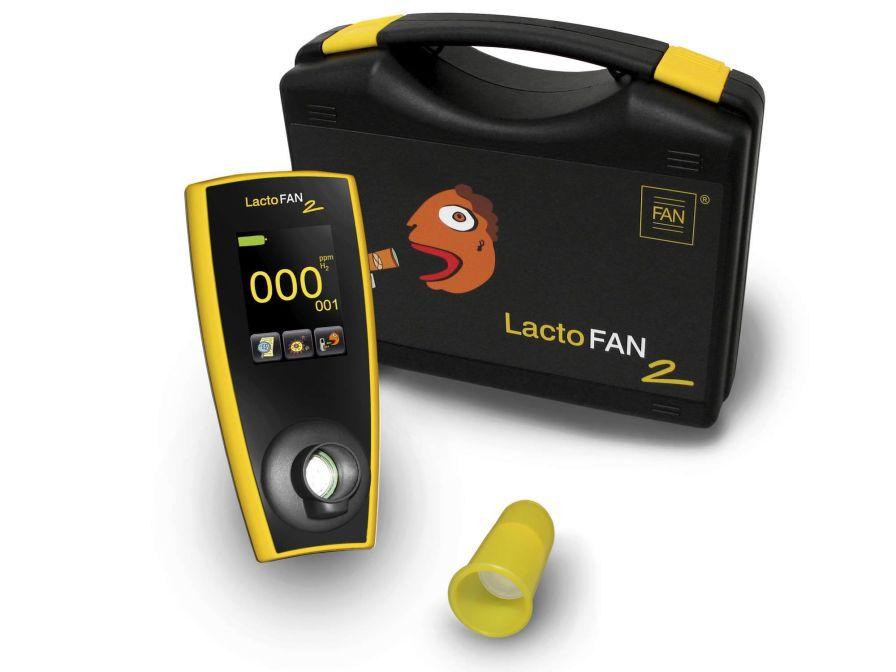 Hydrogen monitor exhaled LACTOFAN 2 Fischer ANalysen Instrumente
