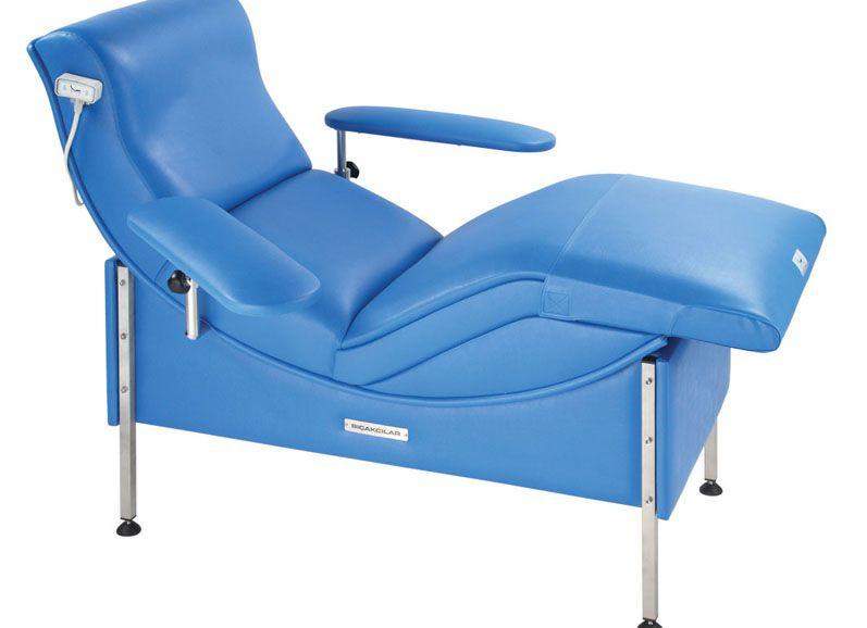 Blood donor armchair Examline 850 Bicakcilar
