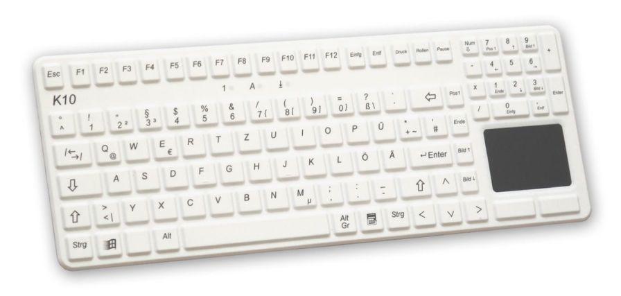 Washable medical keyboard / USB / backlit / with touchpad K10-MED-OEM EVO BOARDS
