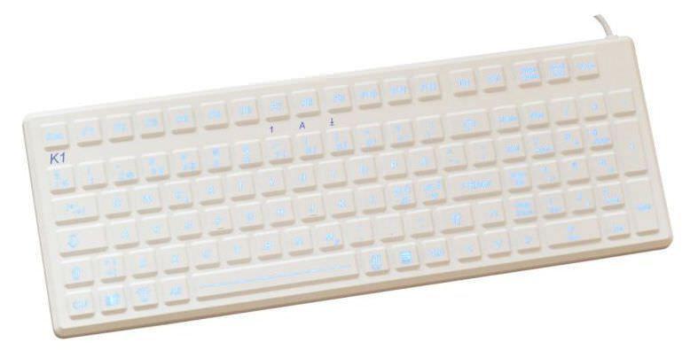 USB medical keyboard / backlit / washable K1-MED-BL EVO BOARDS