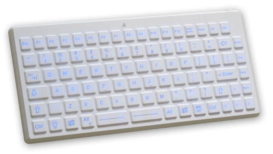 Backlit medical keyboard / disinfectable / washable / USB K2-MED-BL EVO BOARDS