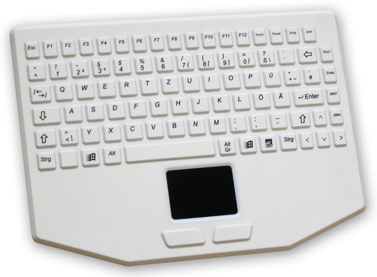 USB medical keyboard / washable / disinfectable / with touchpad K20-MED EVO BOARDS