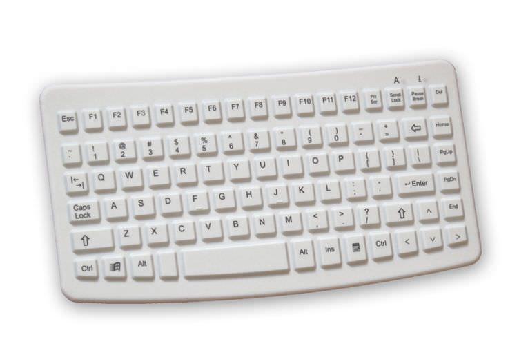 Washable medical keyboard / disinfectable / USB K4-MED EVO BOARDS
