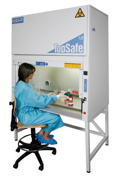 Microbiological safety cabinet with vertical sliding window Topsafe series EuroClone