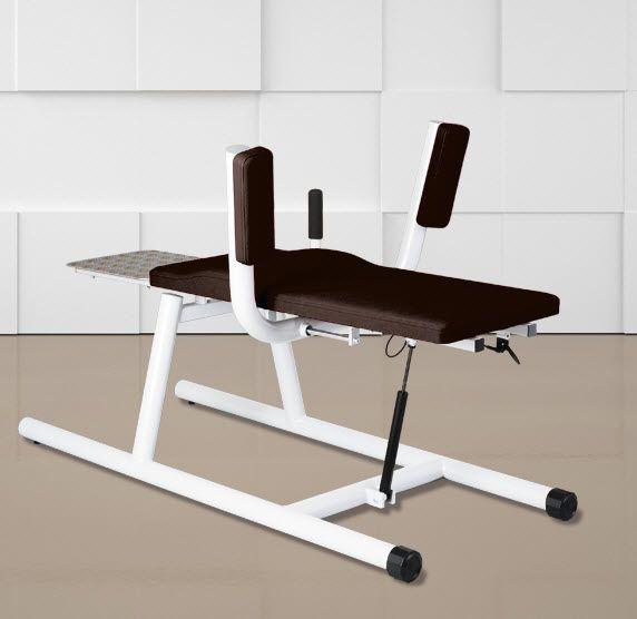 Abdominal crunch bench (weight training) / abdominal crunch / rehabilitation / adjustable LOWER CRUNCH BENCH ERGO-FIT