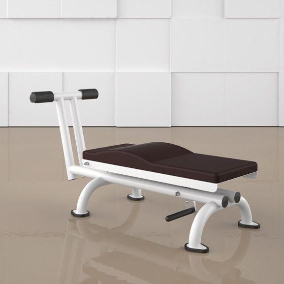 Abdominal crunch bench (weight training) / abdominal crunch / rehabilitation / adjustable ABDOMINAL BENCH 4000 ERGO-FIT