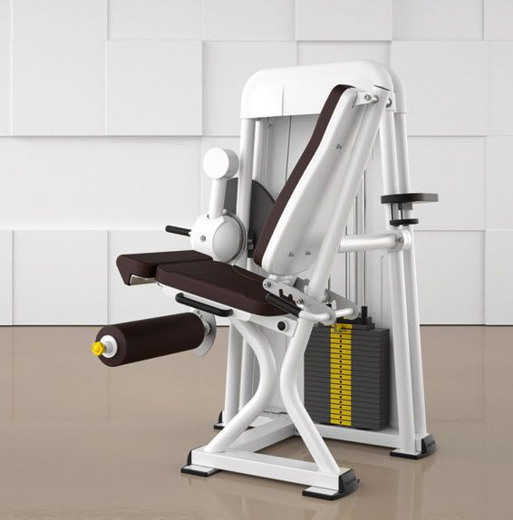 Weight training station (weight training) / leg extension / traditional LEG EXTENSION 4000 ERGO-FIT