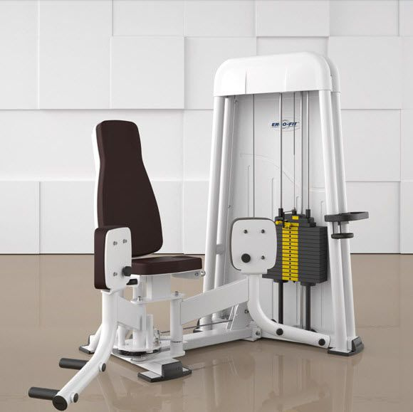 Weight training station (weight training) / leg adduction / traditional ADDUCTOR 4000 ERGO-FIT