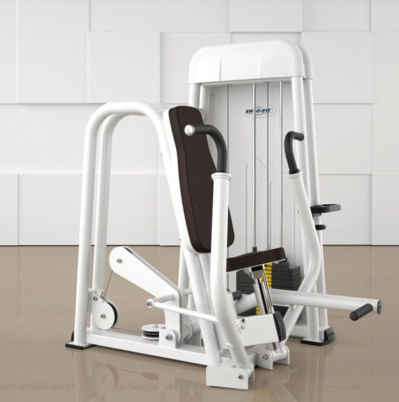 Weight training station (weight training) / chest press / traditional CHEST PRESS 4000 ERGO-FIT