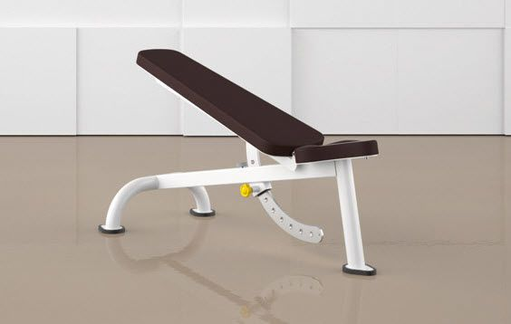 Weight training bench (weight training) / traditional / adjustable MULTI BENCH 4000 ERGO-FIT