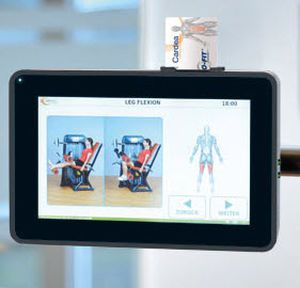 Weight training station (weight training) / shoulder press / traditional SHOULDER PRESS 4000 ERGO-FIT