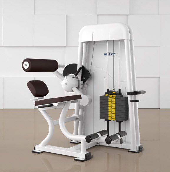Weight training station (weight training) / abdominal crunch / traditional ABDOMINAL FLEXION 4000 ERGO-FIT