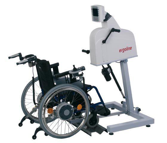 Upper limbs pedal exerciser ergoselect 400 Reha Ergoline