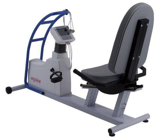 Semi-recumbent ergometer exercise bike ergoselect 600 Reha Ergoline