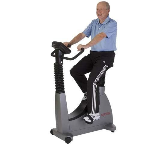Traditional ergometer exercise bike 30 - 130 rpm, 6 - 400 W | optibike Ergoline