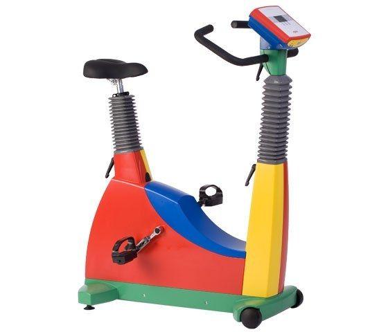 Traditional ergometer exercise bike / pediatric 30 - 130 rpm, 6 - 999 W | ergoselect 150 Ergoline