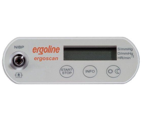 ABPM patient monitor / ambulatory 40 - 260 mmHg, 35 - 240 bpm | ergoscan Ergoline