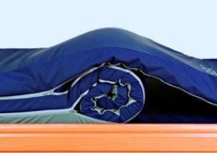 Hospital bed mattress / anti-decubitus / foam / multi-layer TRI-FLEX™ EUROFOAM