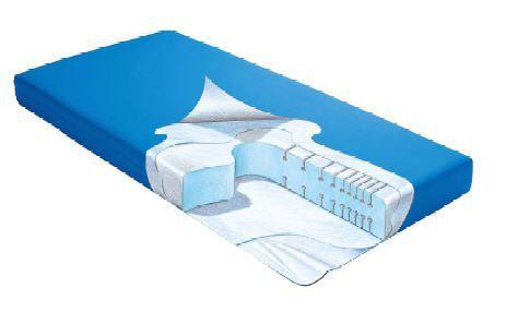Hospital bed mattress / anti-decubitus / foam / grooved structure URTICA EUROFOAM