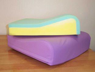 Wheelchair cushion / anti-decubitus / foam CONTOUR SALISBURY ODSTOCK EUROFOAM