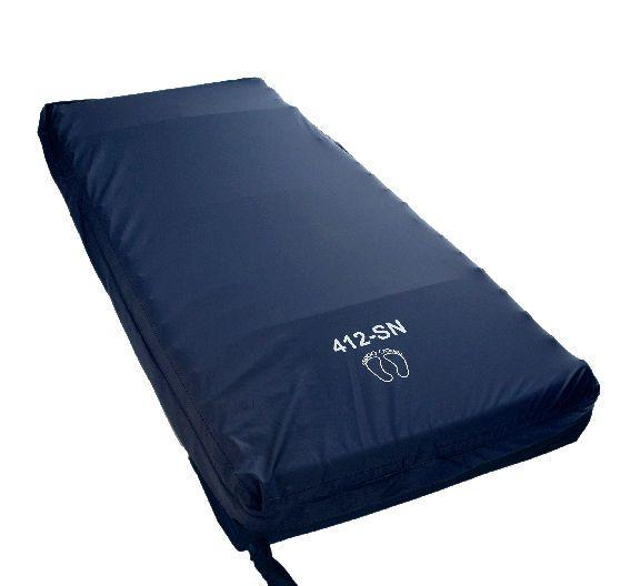 Anti-decubitus overlay mattress / for hospital beds / dynamic air / tube max. 150 kg | Eazyflow 412 Euro-care
