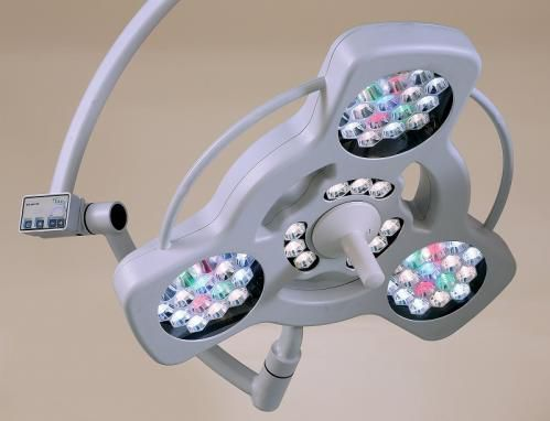 LED surgical light / ceiling-mounted / 1-arm 160000 lux   LED C 16ET Etkin Medical Devices Ltd.