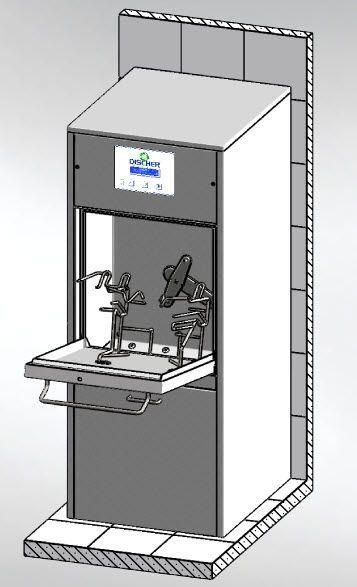 Laboratory washer-disinfector PICCOLO 500 D3P Discher Technik
