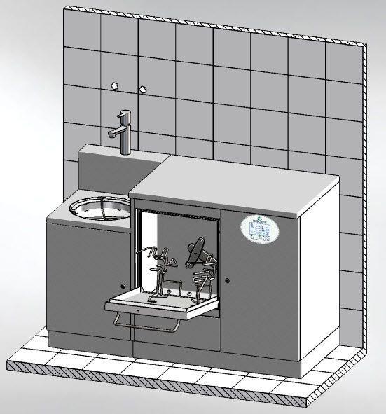 Medical washer-disinfector MASTER 1350 DT Discher Technik