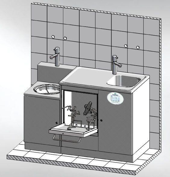 Medical washer-disinfector MASTER 1350.1 DT Discher Technik