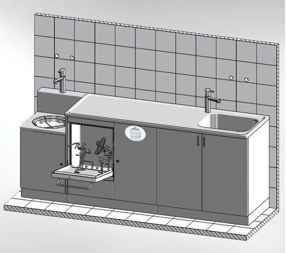 Medical washer-disinfector MASTER 2250.2 DT Discher Technik