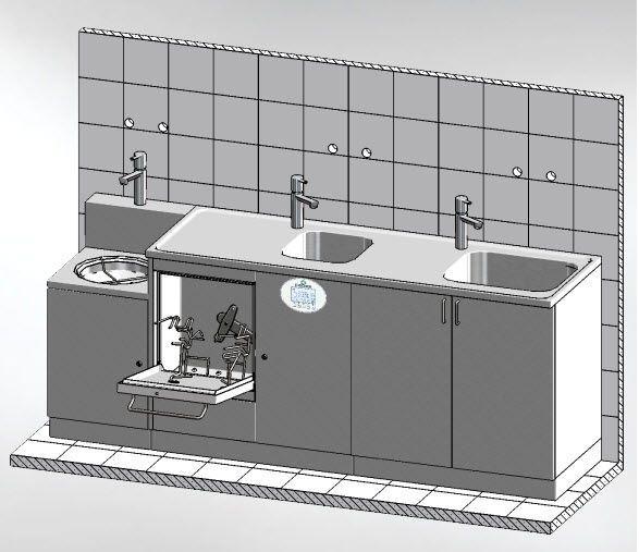 Medical washer-disinfector MASTER 2250.3 DT Discher Technik