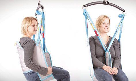Patient lift sling Low Back Ergolet