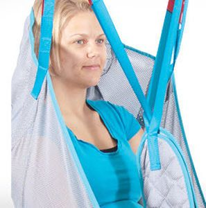 Patient lift sling / with head support Max. 275 kg | Universal Mesh Ergolet