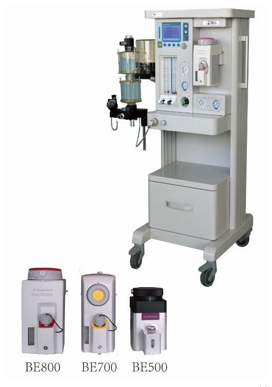 Anesthesia workstation with tube flow meter / 4-tube AM852E Eternity