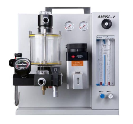Anesthesia workstation with tube flow meter / veterinary / 2-tube AM852-V Eternity