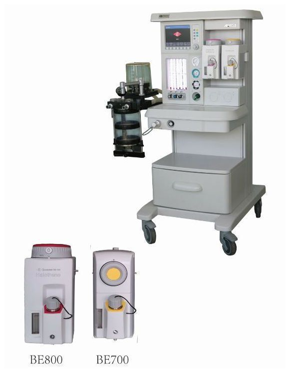 Anesthesia workstation with tube flow meter / veterinary / 6-tube AM852B Eternity
