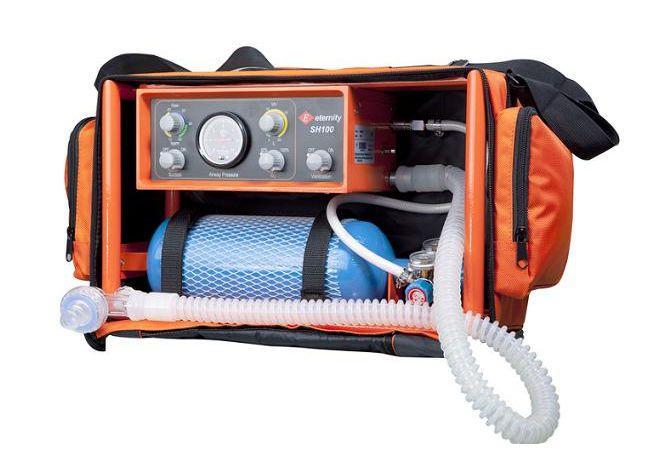Pneumatic ventilator / emergency / portable SH100 Eternity