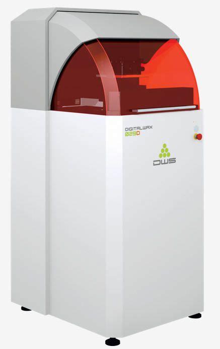 Dental 3D printer DigitalWax 029D DWS SRL
