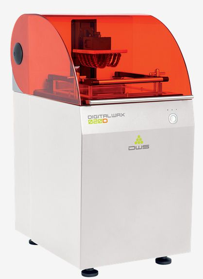 Dental 3D printer / desktop DigitalWax 020D DWS SRL