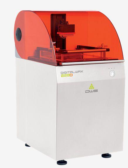 Dental 3D printer / desktop DigitalWax 028D DWS SRL